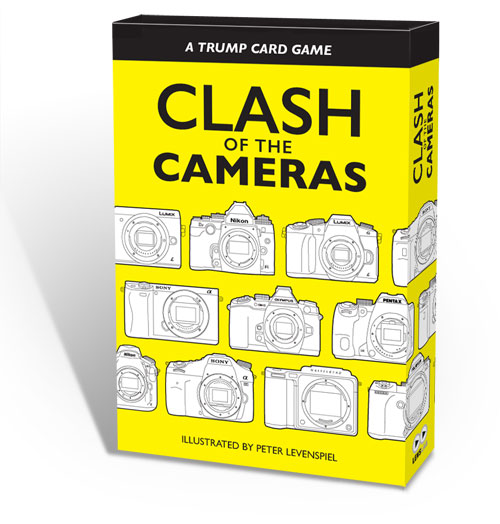 Clash of the Cameras: Top Trumps Card Game