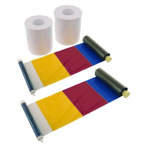 DNP Paper 2 Rolls ? 200 prints. 15x20 Perforated at 5x20 and 10x20 cm for DS620
