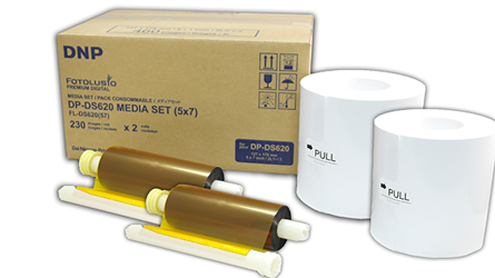 DNP Paper DM57620 2 Rolls ? 230 prints. 13x18 for DS620