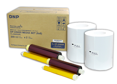 DNP Paper DM68620 2 Rolls ? 200 prints. 15x20 for DS620