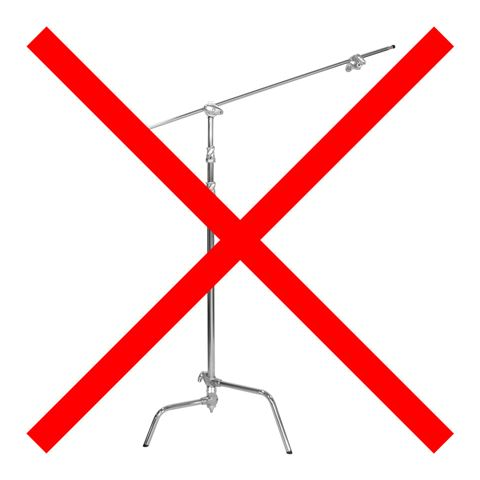 Falcon Eyes C-Stand with Light Boom CS-3200 320 cm