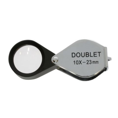 Jewelry Magnifier Doublet 10x 23mm