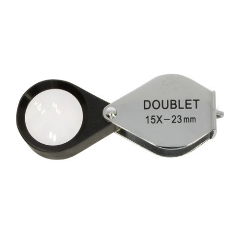 Jewelry Magnifier Doublet 15x 23mm