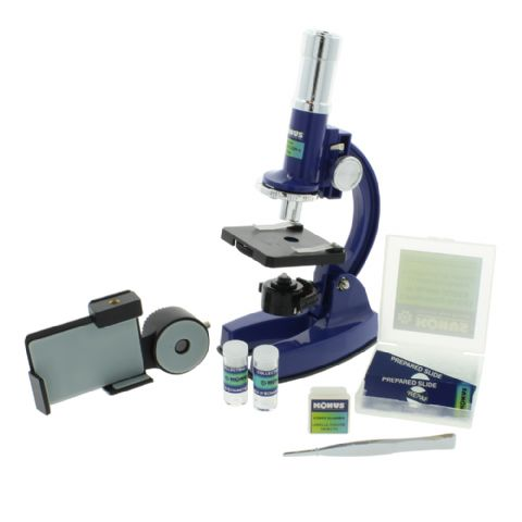 Konus Microscope Konustudy-4 150x-450x-900x with Smartphone Adapter