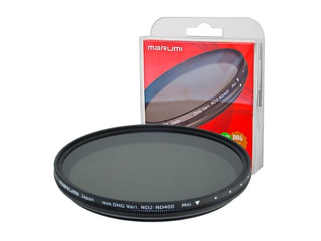 Marumi Grey Variable Filter DHG ND2-ND400 52 mm