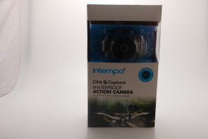 Intempo Click & Capture Attachable Waterproof Action Cam 5-MP