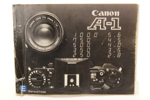 Canon A1 Instruction Book