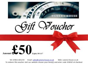 Camera House Gift Vouchers