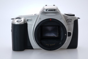 Canon EOS 300 Camera Body c/w wide camera strap