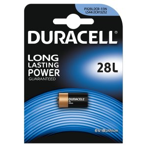 Duracell PX28 Lithium Photo Camera Battery