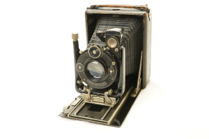Vintage Wallace Heaton  ZODEL folding Camera  circa 1926
