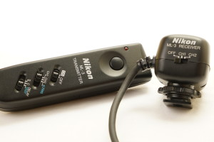 Nikon ML-3 Remote Control Set, Infrared Transmitter, ML-3 Reciver in Case