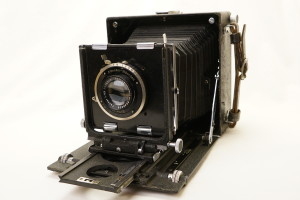 MPP Micro Technical Camera c/w Zeiss Tessar 13.5cm f4.5 lens c1940's (Hire Only)