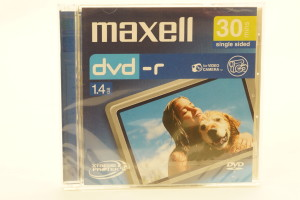 Maxwell DVD-R 30 Min (New)