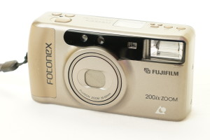 Fuji Fotonex 200ix Zoom APS Camera in case