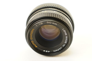 Auto Chinon f1.7 50mm fixed lens (Pentax K mount) Lens