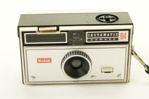 Kodak Instamatic 104 126 Camera c1960's (Hire Only)