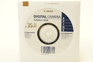 Canon Digital Camera Solution Disk v35 CD