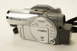 Hitachi DVD Camcorder DZ-MV550E (PAL)