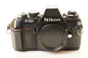 Nikon F301 35mm Camera Body (Boxed/Faulty)