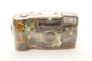 Transparent Ricoh FF-9sd Limited 35mm Compact Camera