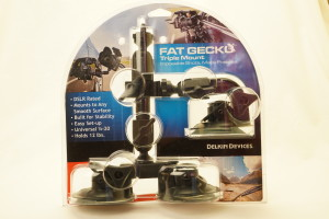 Delkin Fat Gecko Triple Mount (New)