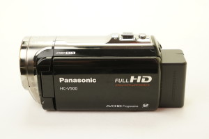 Panasonic HC-V500 Digital Video Camera 50X Zoom