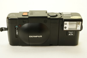 Olympus XA 35mm Compact Camera c/w A11 Flashgun