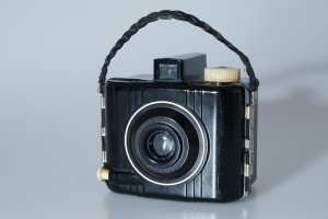 Kodak Baby Brownie Special Camera in Leather Case