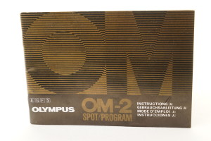 Olympus OM-2 Spot/Program Instruction Book