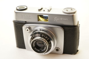 Ilford Sportsman No 3 35mm Camera in Leather Case