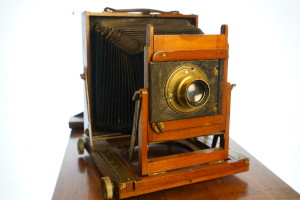 Thornton Pickard Half Plate Ruby Wooden Camera (Hire Only)