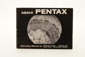 Asahi Pentax Manual for close up equipment