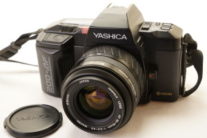 Yashica 200AF c/w 35-70mm in Ever Ready Case