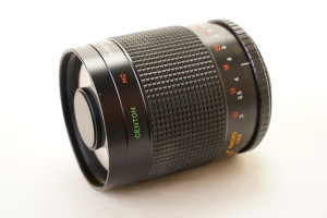 Centon 500mm f8 mirror lens, T2 mount