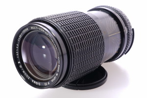 Sigma 35-135mm Zoom f3.5-4.5 Nikon Ai fit lens in case