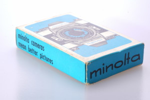 Minolta branded pack of playing cards