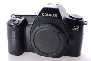 Canon EOS 1000 35mm Camera c/w Body Cap & Narrow Strap