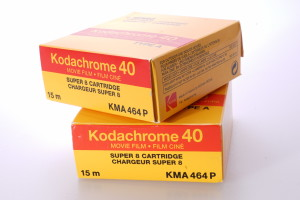 2 x Kodachrome 40 Super 8 Cartridges (unopened)