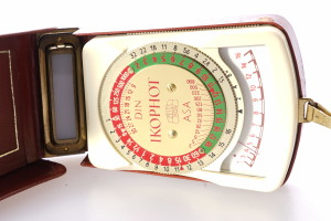 Zeiss Ikon Ikophot Light/Exposure Meter Meter in case