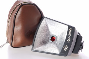 Agfa Isi Blitz Flashgun in case