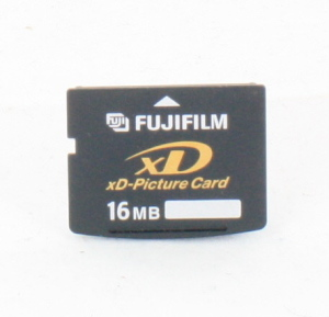 Fuji 16MB XD-Picture Card in case