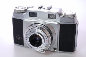 Agfa Super Silette 35mm Camera With Agfa Apotar 1:3.5/45 Lens