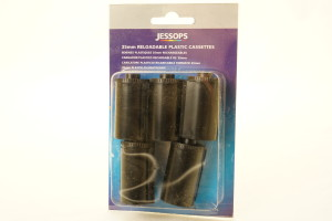 6 x Reloadable 35mm Cassettes in Jessop Packaging