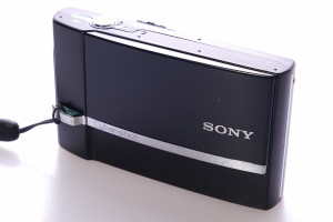 Black Sony Cybershot DSC-T50 4GB Stick