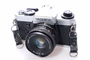 Yashica FXD Quartz 35mm Camera c/w 50mm f2