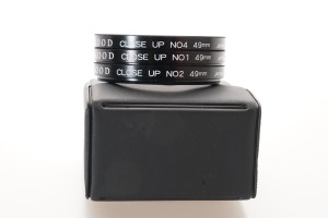Kood 49mm Close up Filter Set 1, 2 & 4 in case