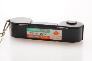 110 Cassette Coin Holder Keyring