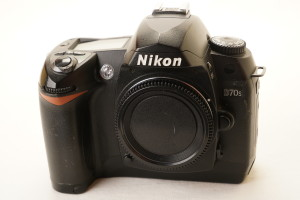 Nikon D70S Digital Camera Body (Blemish on LCD Screen)