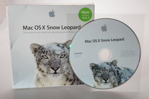 Apple Mac OS X Snow Leopard 10.6.3 CD